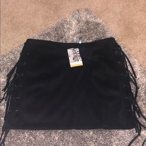 Dresses & Skirts - Suede skirt, never worn